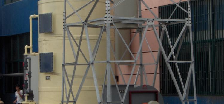 填料式逆流净化塔